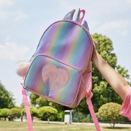 Kids Unicorn Backpack For Girls Rainbow School Bag