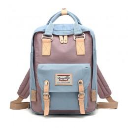 Multicolor Travel School Ladies College Girls Lightweight  Casual Daypacks Bag Backpack
