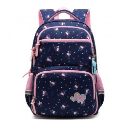 Kids Girls School Backpack With Chest Strap Princess Big Elementary Bookbag