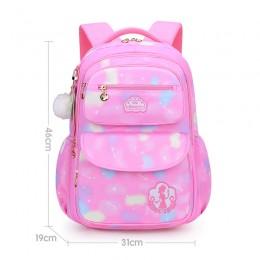 Girls School Bags Children Primary School Backpack Satchel Princess Schoolbag