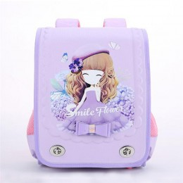 Children School Bag Waterproof Eva Orthopedic Backpacks For Girl Cartoon Princess Satchel