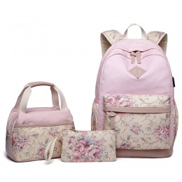Girls Backpack With Lunch Bag School Backpacks for Teen Girls
