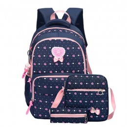 School Backpack Set Girls Womens Laptop Bookbag Daypack Fits Laptop with Lunch Tote Bag and Pencil Bag