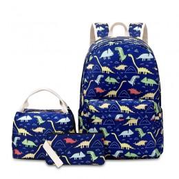 Boys Preschool Backpack with Lunch Box Toddler Kindergarten School Bookbag Set
