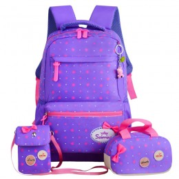 Canvas Backpacks With Lunch Bag Laptop Bookbags Set