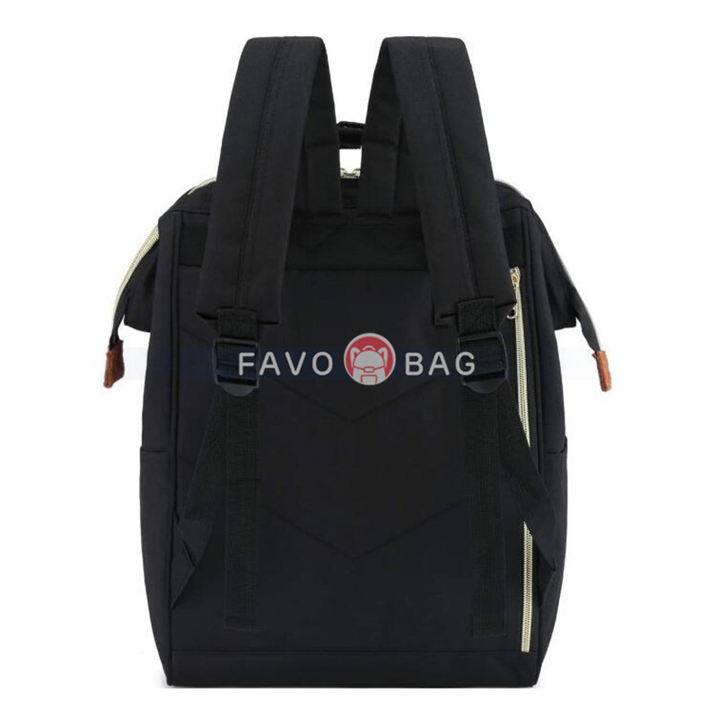 Black Laptop Backpack Travel Backpack With Usb Charging Port