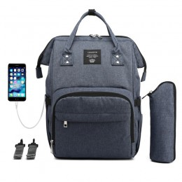 Royal Blue Laptop Backpack For Travel Bags Business Computer Purse Work Bag With Usb Port