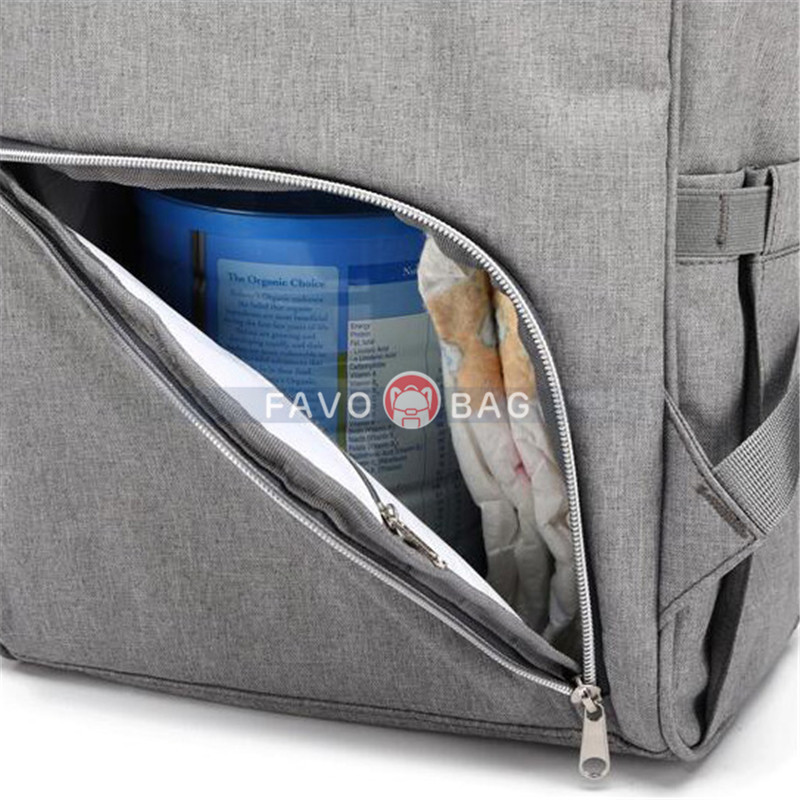 Gray Laptop Backpack For Travel Bags Business Computer Purse Work Bag With Usb Port