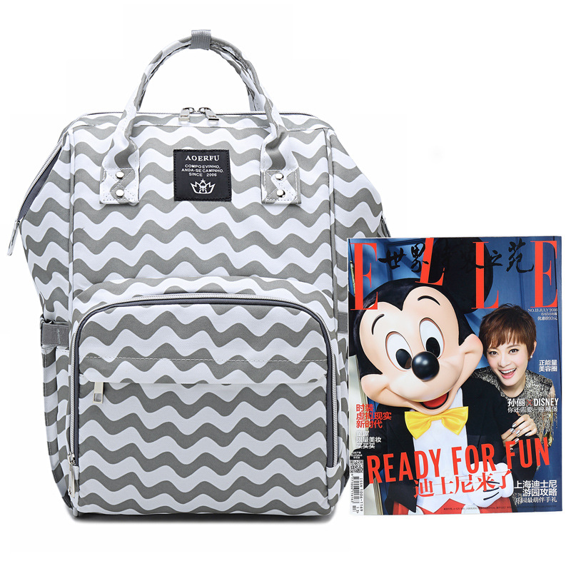 Black And White Stripes Laptop Backpack For Travel Bags Business Computer Purse Work Bag With Usb Port