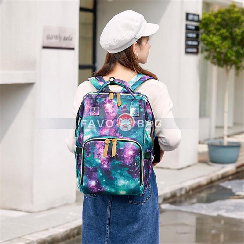 School Backpack College Bookbag Travel Rucksack