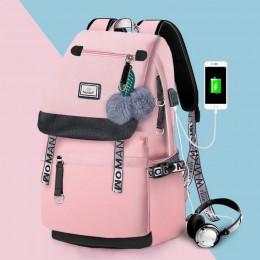 Pink Backpack For Girls Kids Schoolbag Children Bookbag Women Casual Daypack