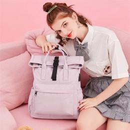 Pink Travel Laptop Backpack For Women Huge Capacity Computer Notebook Bag