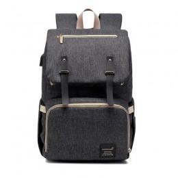 Black Laptop Vintage Backpack College Backpack Travel Laptop Bookbags With Usb Charging Port