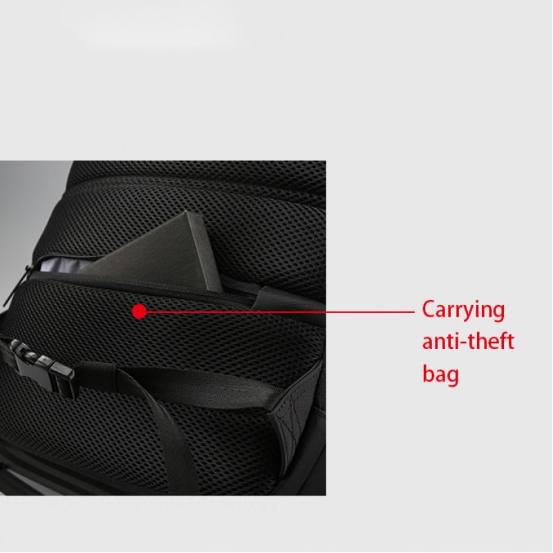 Anti Theft Laptop Backpack Waterproof Coss-Body Sling Bag With Usb Charging Port