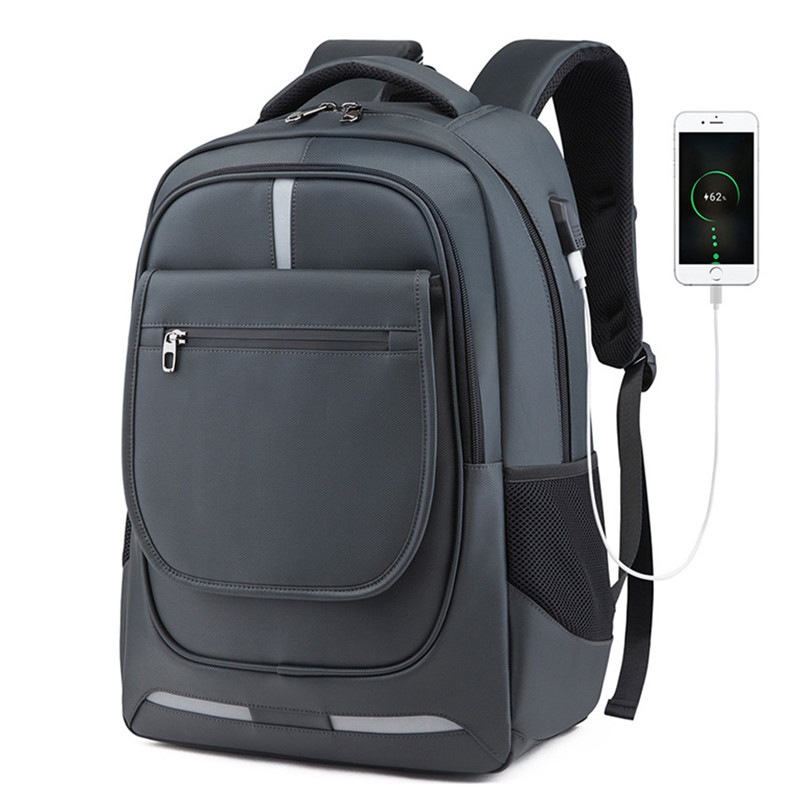 Blue Men Women Laptop Backpack Computer Tech Usb College School Bag