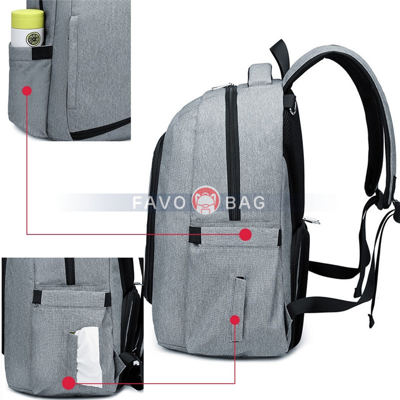 Daddy Diaper Backpack Big Maternity Baby Shower Gift Nappy Casual Shoulder Bags Travel Hiking Outdoor Pack