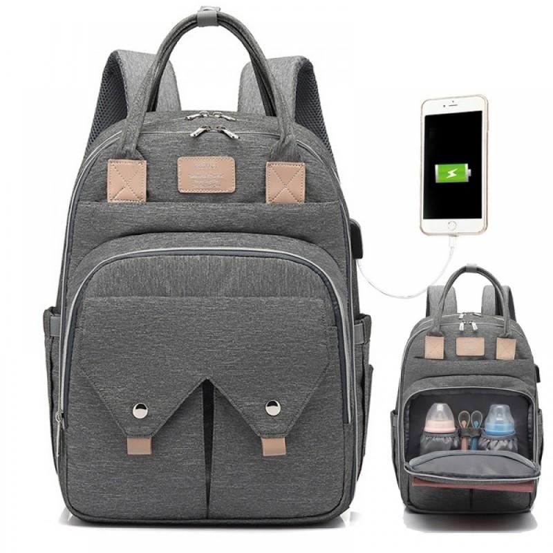 Cute Diaper Bag Backpack for Mum Outdoor Nappy Bag Travel Bag