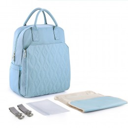Women's One Size Diaper Bag Weekender Bag Backpack with Changing Pad