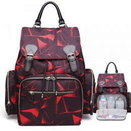 Big Mummy Diaper Bag Durable Printing Backpack Handbag Top Level