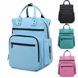Waterproof Printing Diaper Bag Large Capacity Travel Backpack Nursing Nappy Bags for Mom