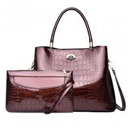 Vintage Handbag Tote Bag Set for Ladies Top Handle Satchel Purse