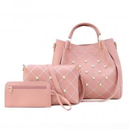 3pc Handbags for Women Tote Bags Shoulder Bag Top Handle Satchel Purse Set