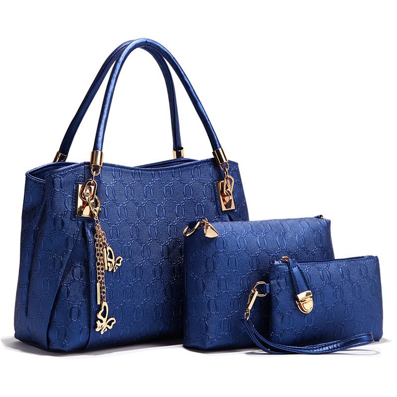 Women's Pu Leather Hangbag Shoulder Bags with Adjustable Shoulder Strap