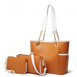 Commute Handbag for Women Soft Leather Tote Bag Wallet Top Level