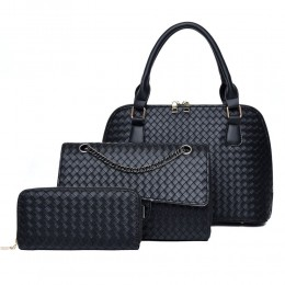 Leather Handbags for Ladies Quilted Purses Top-handle Totes Satchel Bag