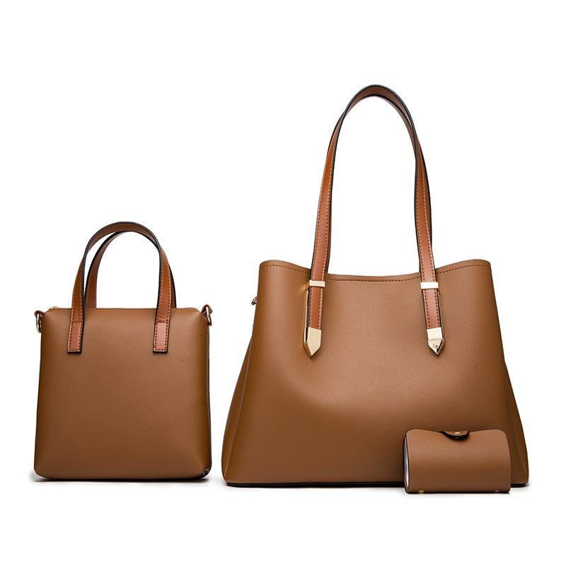 Handbags for Women Tote Bags Shoulder Bag Top Handle Satchel Purse Set 3pcs