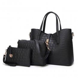 Large Shoulder Bag Ladies Crossbody Bag 3pcs Purse Set for Women