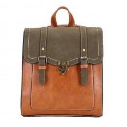 Large Big Pu Leather Backpack Female Shoulder School Bag Handbag