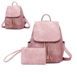 Women's Backpack Multipurpose Design Handbag and Shoulder Bag PU Leather Travel bag Purse