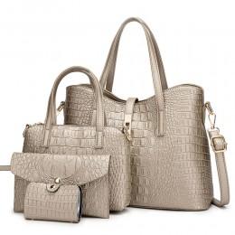 Women Handbags Tote Bag Shoulder Bag Top Handle Satchel Purse Set 4pcs