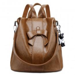 Mini Backpack Purse for Women PU Leather Satchel School Bag