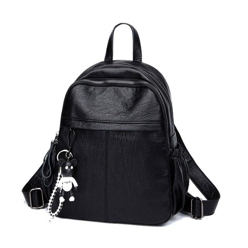 Handbag Backpack Purse Soft PU Leather College School Daypack Handbag for Girls