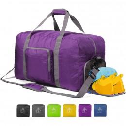 Foldable Duffle Bag for Travel Gym Sports Lightweight Luggage Duffel