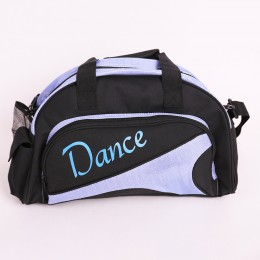 Girl's Ballet Dance Sports Gym Duffel Bag Travel Carry On + Handy Pouch