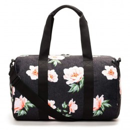 Sports Duffel Peony Gym Bag with Shoe Compartment
