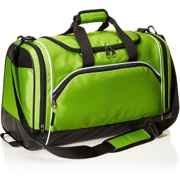 Basics Medium Lightweight Durable Sports Duffel Gym and Overnight Travel Bag