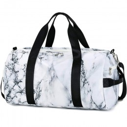 Sport Gym Duffle Travel Bag for Men Women with Shoe Compartment, Wet Pocket