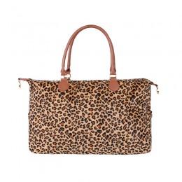 Leopard Duffle Bag For Women Large Cheetah Tote Shoulder Bag